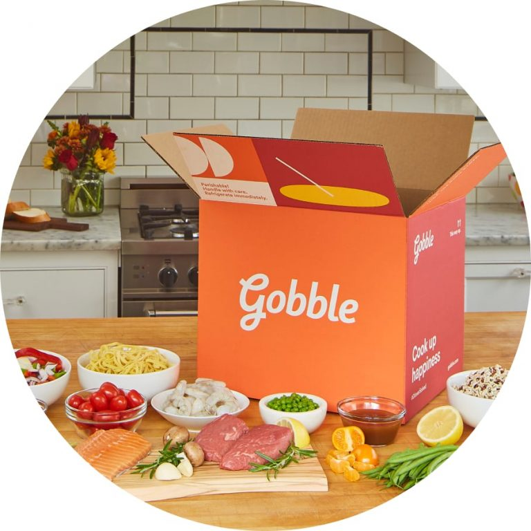 Gobble Delivery with Food