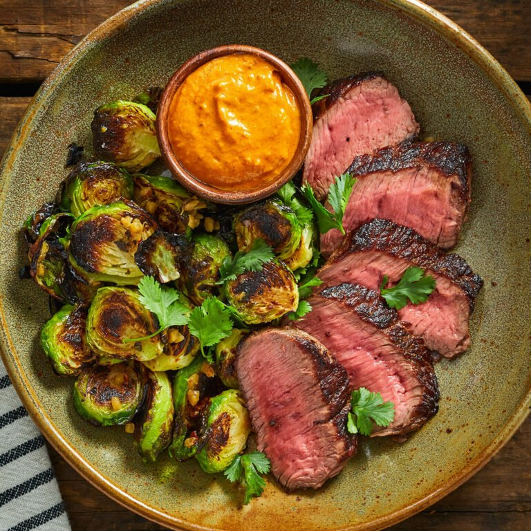 Seared Sirloin Steak Meal Delivery Kit